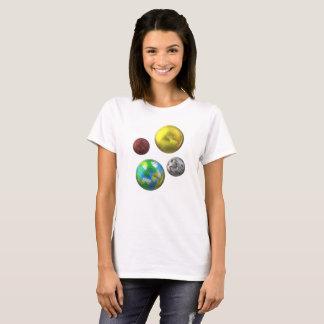 3D Planet Design T-Shirt