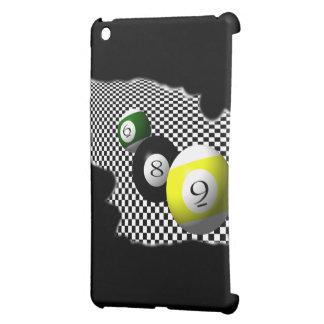 3D Pool Balls Psychobabble Splash iPad Mini Cover