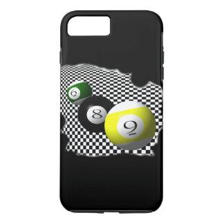 3D Pool Balls Psychobabble Splash iPhone 8 Plus/7 Plus Case