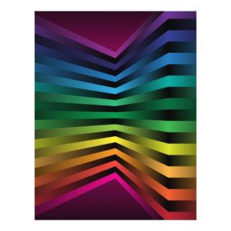 3D Rainbow 21.5 Cm X 28 Cm Flyer