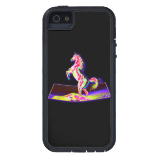 3D REARING HORSE iPhone 5 CASE