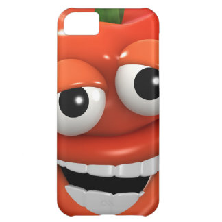 3d Red Pepper Laughs with joy Cover For iPhone 5C