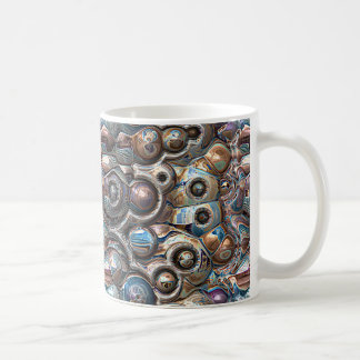 3D Reflections of Copper Coffee Mug