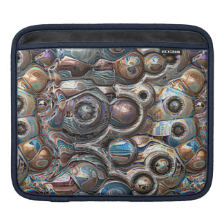 3D Reflections of Copper iPad Sleeve