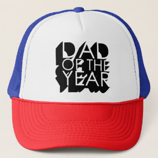 3D Shadow Dad of the Year Trucker Hat