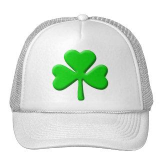 3d Shamrock Trucker Hat