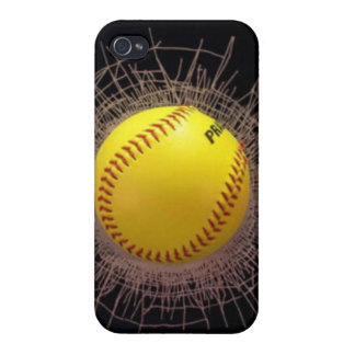 3D Shatter Baseball iphone Case Covers For iPhone 4