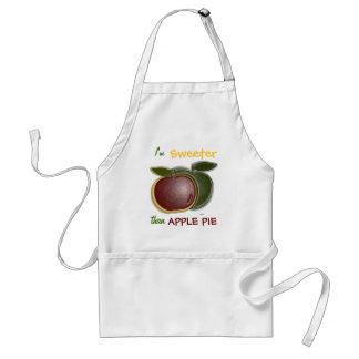 3D Shiny Apples Apron Aprons
