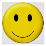 3D Smiley Posters