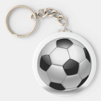 3D Soccer Football Key Ring