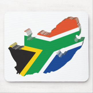 3D South Africa Mouse Pad