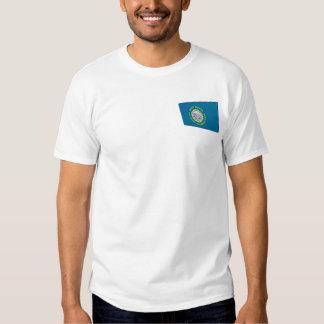 3D South Dakota State Flag T-shirts