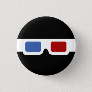 3D Specs (Original) 3 Cm Round Badge