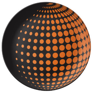 3D Spheres with Dots Plate