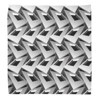 3D squares Bandana