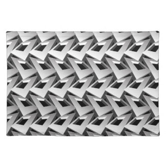 3D squares Placemat