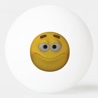 3D Stlyle Smiling Emoticon