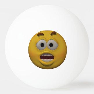 3D Style Affraid Emoticon