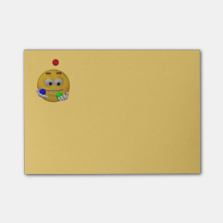 3d Style Juggling Emoticon Post-it® Notes