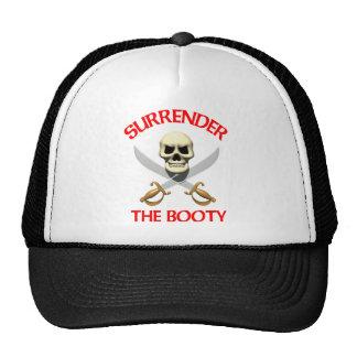 3D Surrender the Booty Trucker Hats