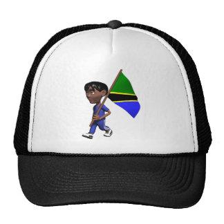 3D Tanzania Hats