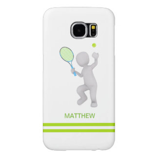 3D Tennis Player Tennis Racket Ball Personalized