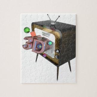 3D tv Jigsaw Puzzle