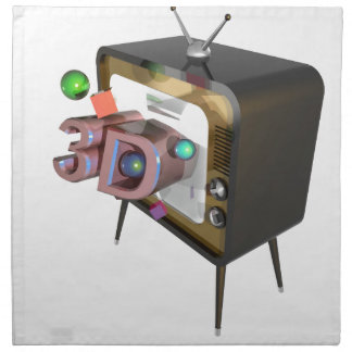 3D tv Napkin