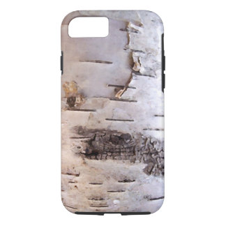 3D White Birch Bark iPhone 8/7 Case