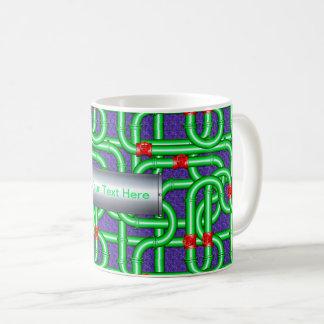 3D Woven Pipes Illusion Classic Mug