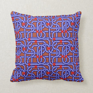 3D Woven Pipes Pillow