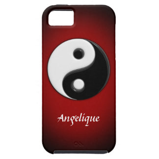 3D Yin Yang Customizable iPhone 5 Case