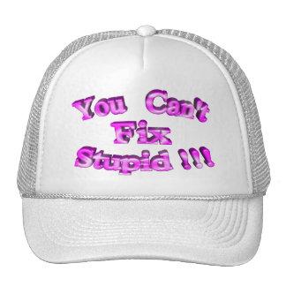 3D You Can't Fix Stupid !!! Cap