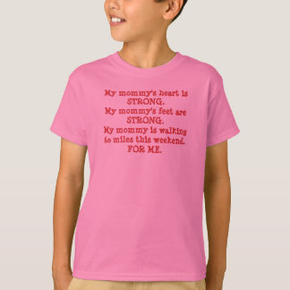 3Day Children's Cheering Shirt - My Mommy