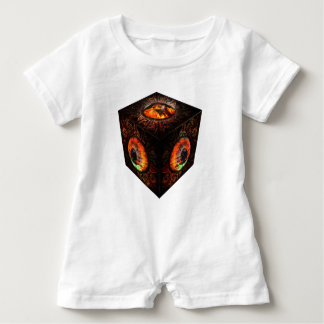 3dCubeOnly.gif Baby Bodysuit