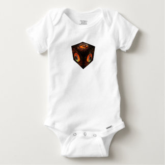 3dCubeOnly.gif Baby Onesie