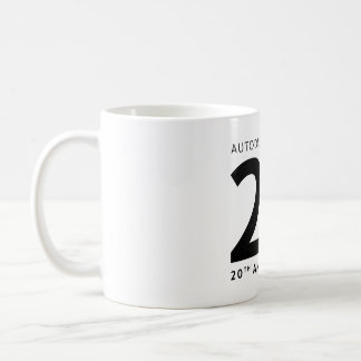 3ds Max 20th Anniversary Mug