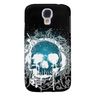 3G Gothic Skull Aqua  Galaxy S4 Covers