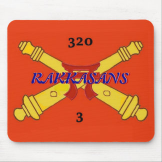 3rd 320th Artillery  Mousepad