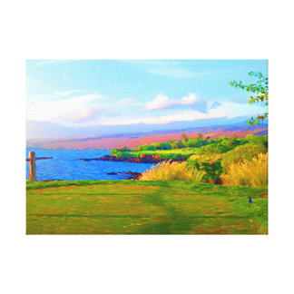 3rd Across The Bay At Mauna Kea on Canvas