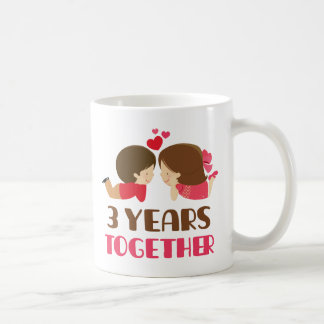 3rd Anniversary Gift For Her Coffee Mug