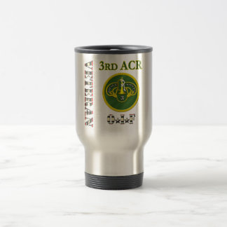 3rd Armored Cavalry OIF Veteran Travel Mug