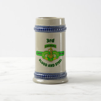 "3RD ARMORED CAVALRY REGIMENT ""BRAVE RIFLES"" BEER STEIN"
