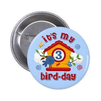 3rd Bird Day Button