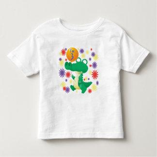 3rd Birthday Alligator Toddler T-Shirt