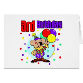 3rd Birthday Australia Birthday Card