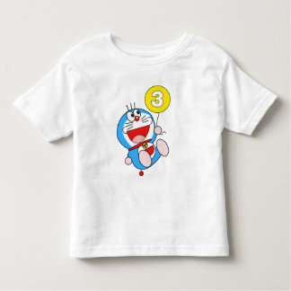 3rd Birthday Boy 3rd Birthday Girl Cool Cat Kitty Toddler T-Shirt