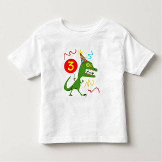 3rd Birthday Boy 3rd Birthday Girl Cool Monster Toddler T-Shirt