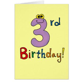3rd Birthday! Card