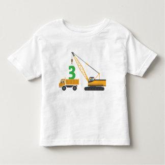 3rd Birthday Construction Tee